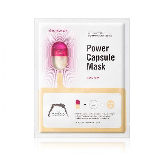 Маска с капсулой-активатором для восстановления и тонизирования THE OOZOO Power Capsule Mask Recovery