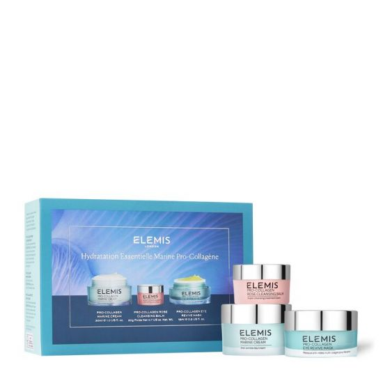 Набор эксклюзивное трио фаворитов Elemis Kit Pro-Collagen Marine Moisture Essentials