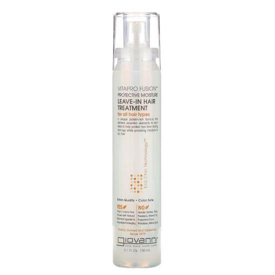 Защитное средство для волос Giovanni Vitapro Fusion Protective Moisture Leave-In Hair Treatment