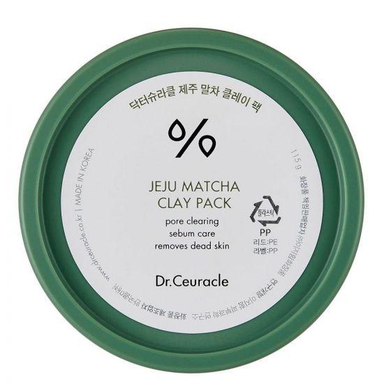 Очищающая глиняная маска с чаем Матча Dr. Ceuracle Jeju Matcha Clay Pack