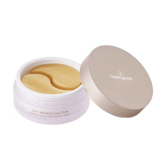 Гидрогелевые патчи для кожи вокруг глаз с коллагеном и коллоидным золотом, стандартный размер BeauuGreen Collagen & Gold Hydrogel Eye Patch
