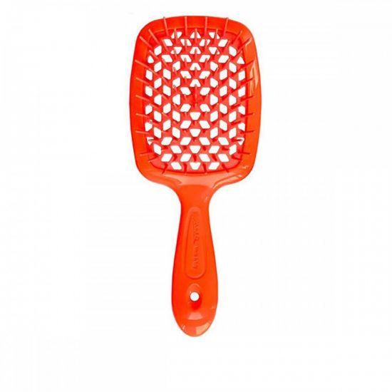 Расческа для волос Janeke Superbrush The Original Orange Neon