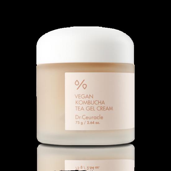 Веганский крем-гель с экстрактом комбучи Dr.Ceuracle Vegan Kombucha Tea Gel Cream