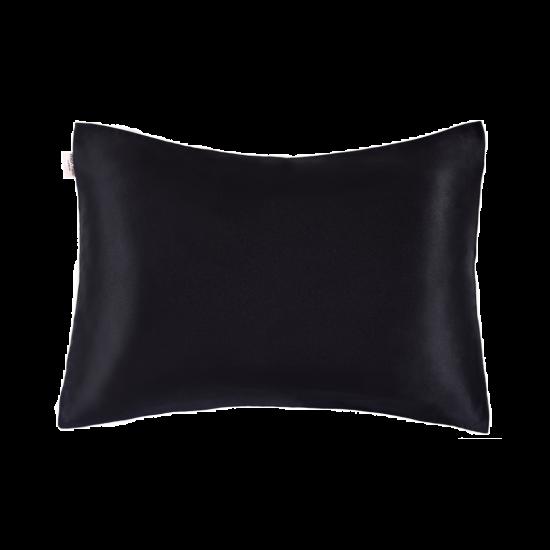 Наволочка MON MOU с натуральным 100% шелком (Черный)
