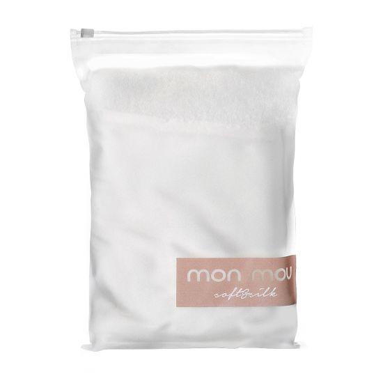 Двухстороннее полотенце-тюрбан для деликатной сушки волос MON MOU Hair Turban White