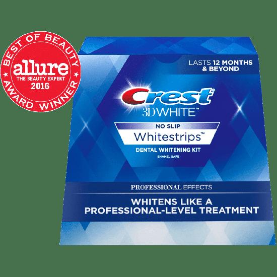 Отбеливающие полоски Crest 3d White Luxe Whitestrips Professional Effects