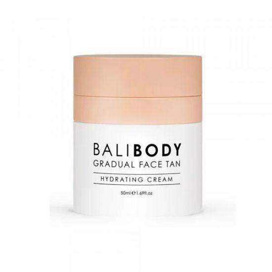 Увлажняющий крем для лица с эффектом автозагара Bali Body Gradual Face Tan