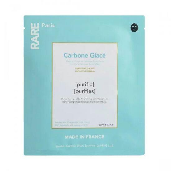 Очищающая тканевая маска Rare Paris Carbone Glacé Purifying Face Mask