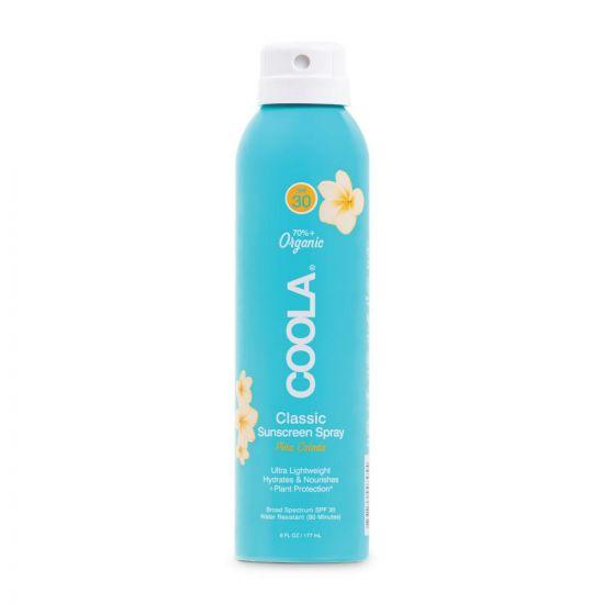 Солнцезащитный спрей для тела (Пина Колада) SPF 30 Coola Classic Body Organic Sunscreen Spray Pina Colada