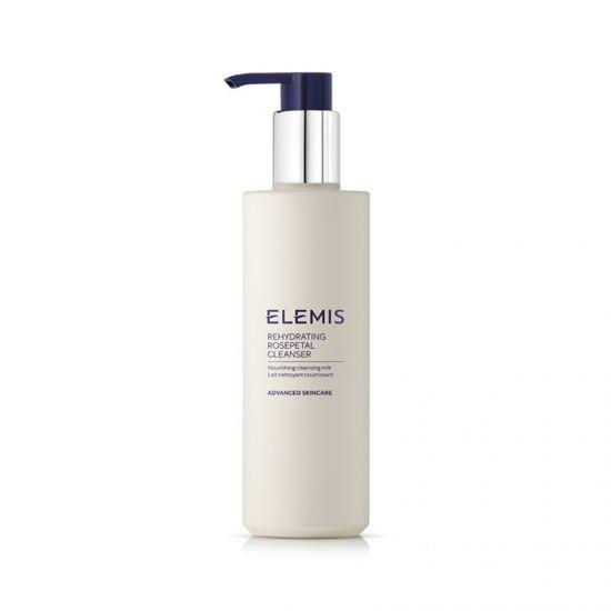 Очищающее увлажняющее молочко Elemis Rehydrating Rosepetal Cleanser