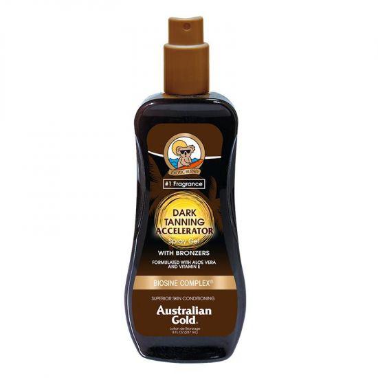 Ускоритель загара с бронзером Australian Gold Dark Tanning Accelerator Spray Gel with Bronzers