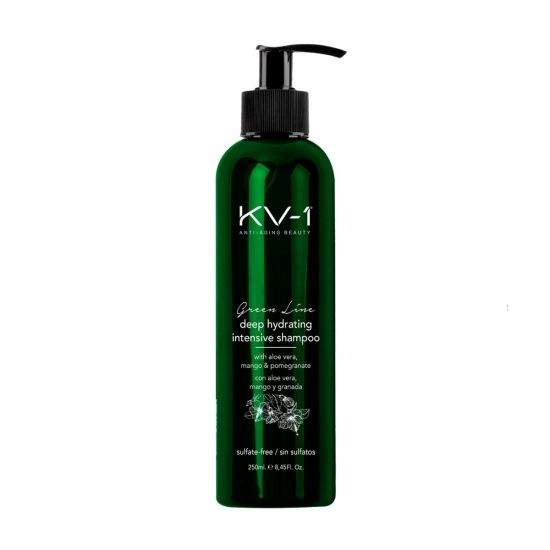Шампунь интенсивно увлажняющий без сульфатов KV-1 Green Line Deep Hydrating Intensive Shampoo