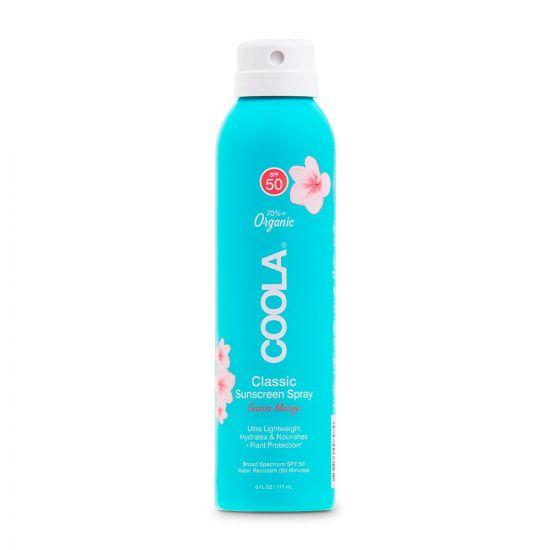 Солнцезащитный спрей для тела (Гуава-Манго) Coola Classic Sunscreen Spray Guava Mango SPF 50