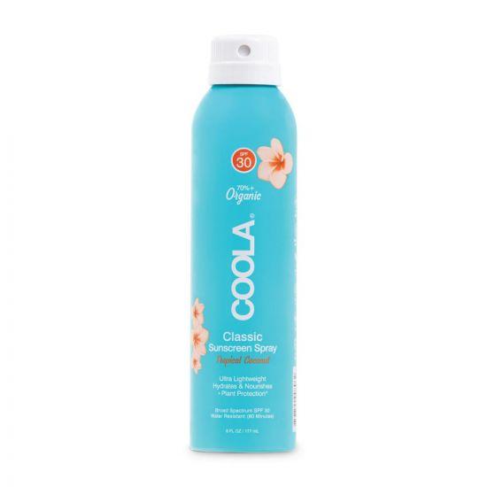 Солнцезащитный спрей для тела (Кокос) Coola Classic Sunscreen Spray Tropical Coconut SPF 30