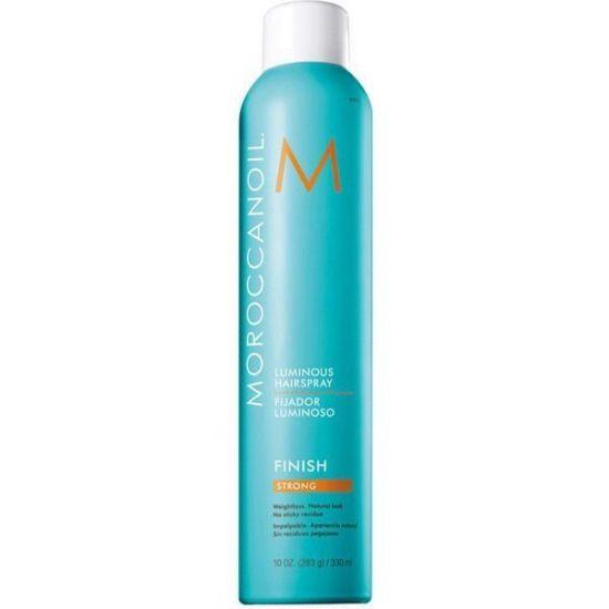 Сияющий лак для волос сильной фиксации Moroccanoil Luminous Hairspray Strong Finish