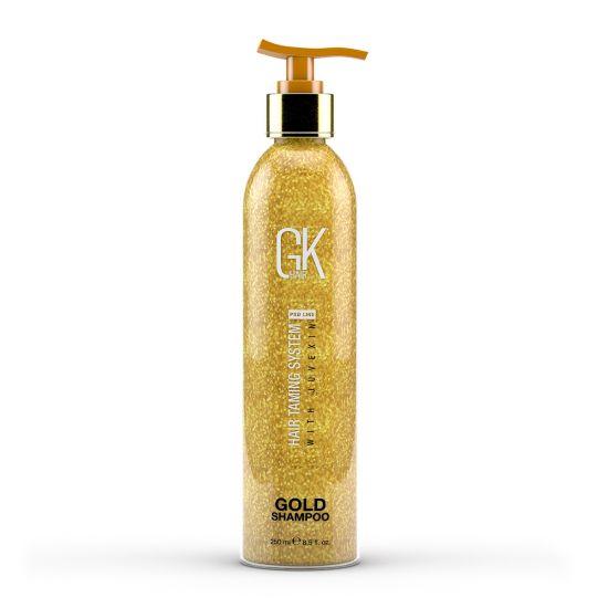 Шампунь с частицами золота GKhair Gold Shampoo