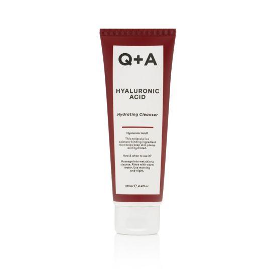 Увлажняющий очищающий гель с гиалуроновой кислотой Q+A Hyaluronic Acid Cleanser Gel