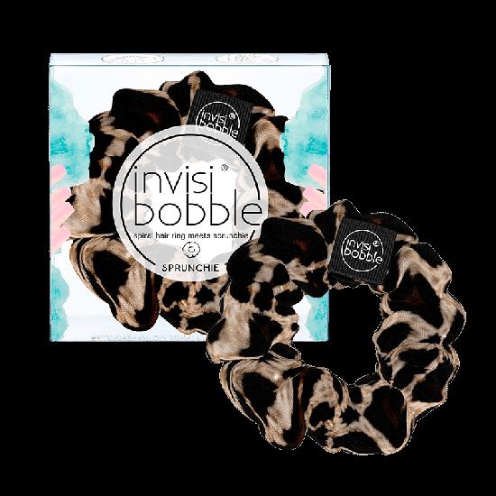 Тканевая резинка-браслет для волос Invisibobble Sprunchie Purrfection