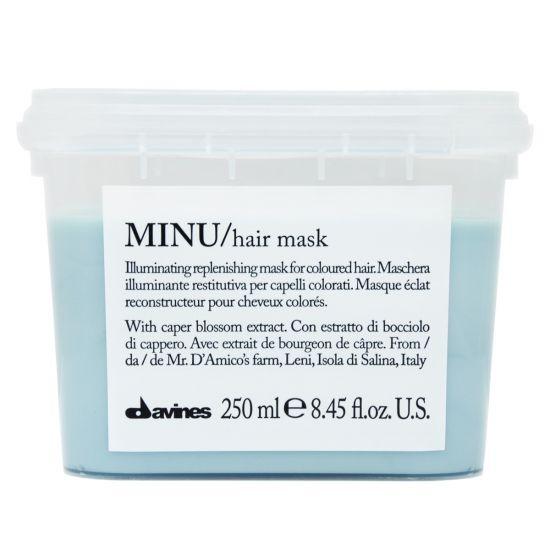 Маска для придания блеска и защиты цвета волос Davines MINU Hair Mask
