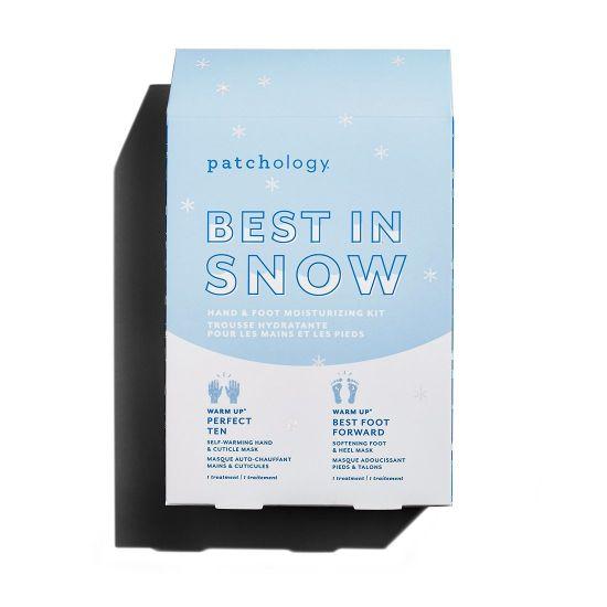 Увлажняющий набор для рук и ног Patchology Best in Snow: Hand & Foot Moisturizing Kit