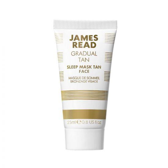 Ночная маска для лица с эффектом загара James Read Sleep Mask Tan Face Travel-Size