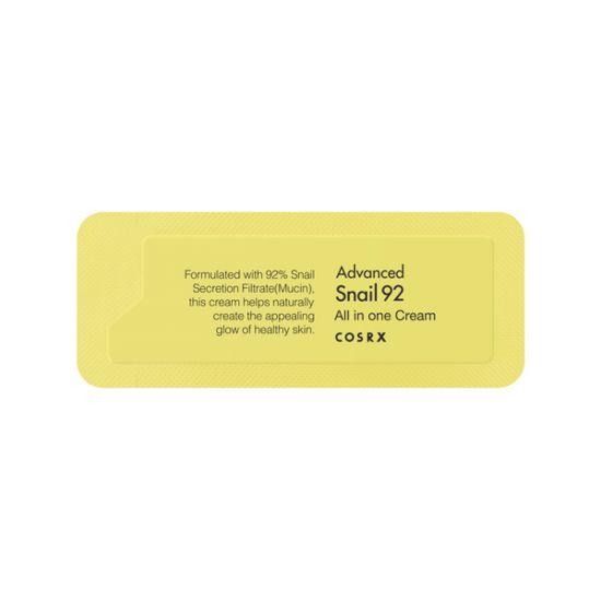Универсальный улиточный крем (пробник) COSRX Advanced Snail 92 All In One Cream Sample