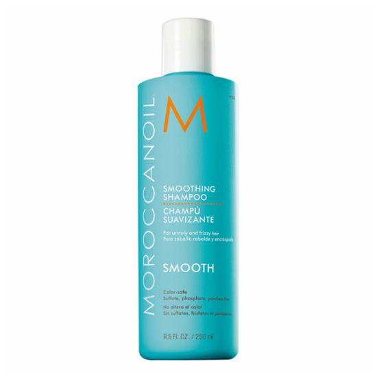 Разглаживающий шампунь для непослушных и вьющихся волос Moroccanoil Smoothing Shampoo