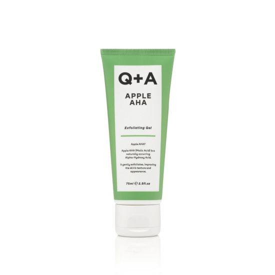 Отшелушивающий гель с кислотами для лица Q + A Apple AHA Exfoliating Gel