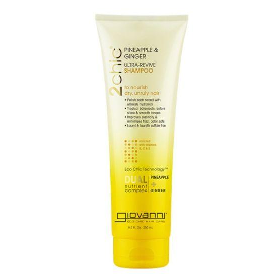 Шампунь для волос Giovanni Shampoo 2Chic Ultra-Revive Dry or Unruly Hair