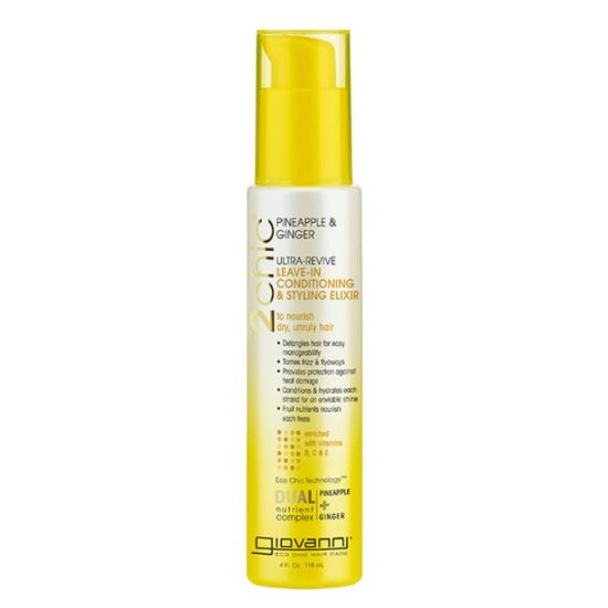 Кондиционер-стайлер для волос Giovanni 2Chic Ultra-Revive Leave-in Conditioning & Styling Elixir Dry or Unruly Hair