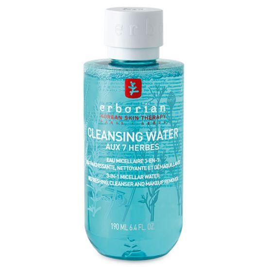 Очищающая мицеллярная вода 7 трав Erborian Aux 7 Herbes Cleansing Water