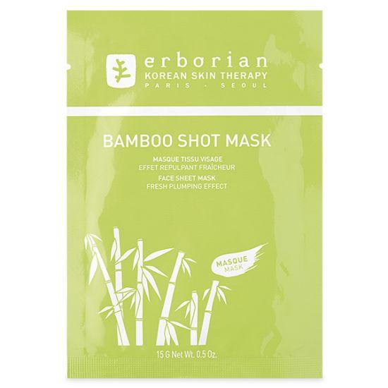 Увлажняющая тканевая маска Бамбук Erborian Bamboo Shot Mask