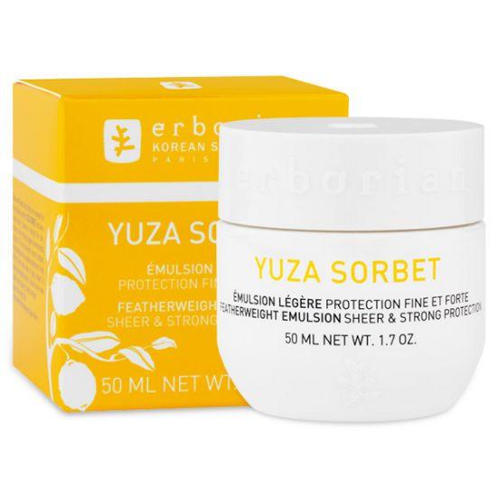 Увлажняющий дневной крем Юзу Сорбет Erborian Yuza Sorbet Emulsion