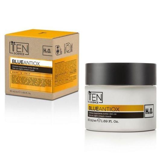 Антиоксидантный ночной крем-маска Ten Science Blue Antiox Night Cream