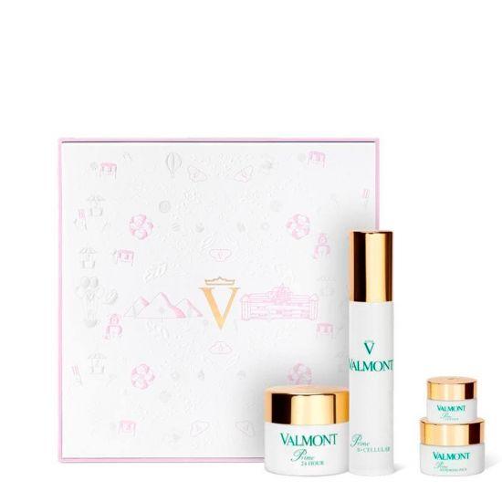 Косметический набор (розовый) Valmont Prime 24 Hour Set