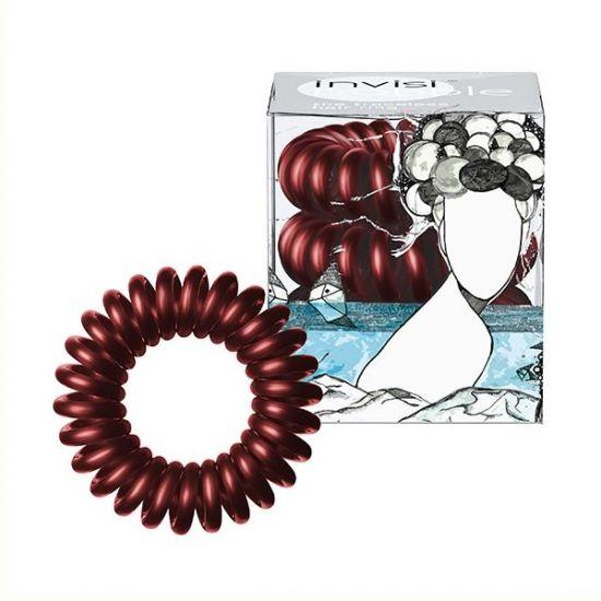 Резинка-браслет для волос 3 шт. Invisibobble Burgundy Dream