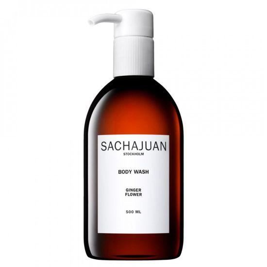 Увлажняющий и успокаивающий гель для душа с ароматом цветов бергамота и лимона SACHAJUAN Body Wash Ginger Flower