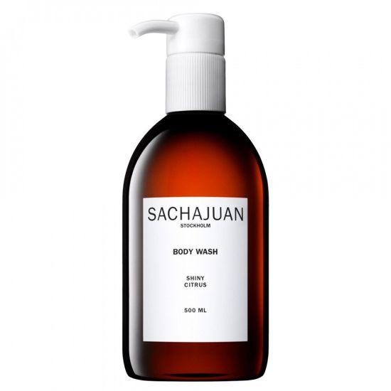 Увлажняющий и успокаивающий гель для душа с цитрусовым ароматом SACHAJUAN Body Wash Shiny Citrus