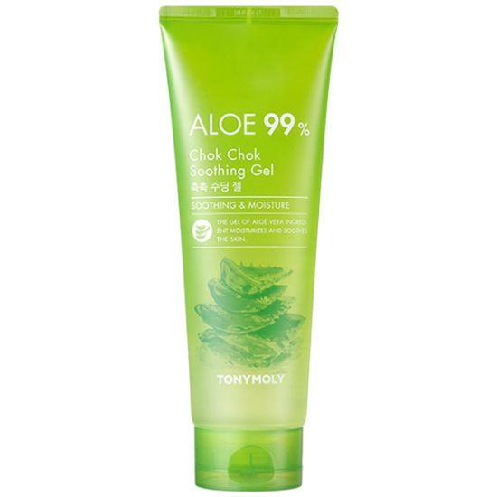 Универсальный гель с соком Алоэ TONY MOLY Chok Chok Soothing Aloe Gel 99%