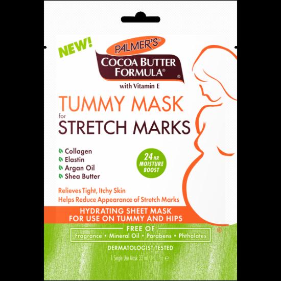 Маска против растяжек для кожи живота Palmers Cocoa Butter Formula Tummy Mask for Stretch Marks