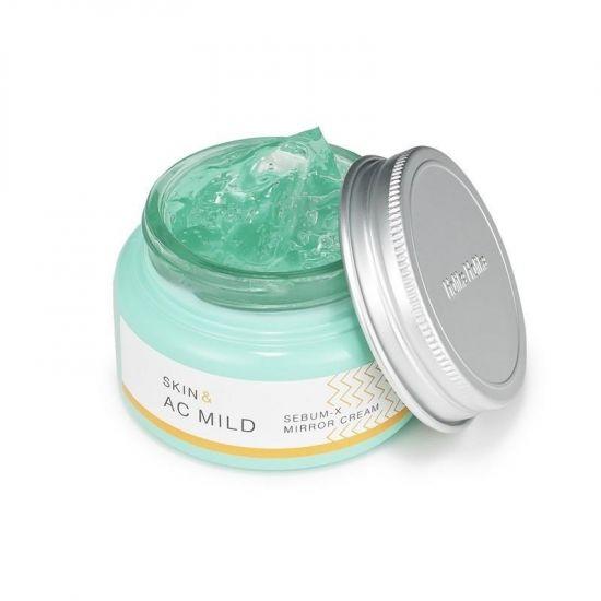 Крем-гель для проблемной кожи Holika Holika Skin and AC Mild Sebum X Mirror Cream