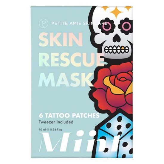 Маска-патчи для комбинированой кожи Petite Amie Skin Rescue Mask, Tattoo Patches