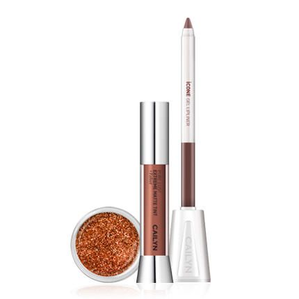 Набор Cailyn Matte To Go Glitter Lip Trio Perfect Nude