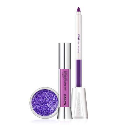 Набор Cailyn Matte To Go Glitter Lip Trio Lilac Purple