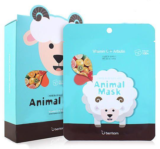 Тканевая маска Berrisom Animal Mask Vitamin Sheep