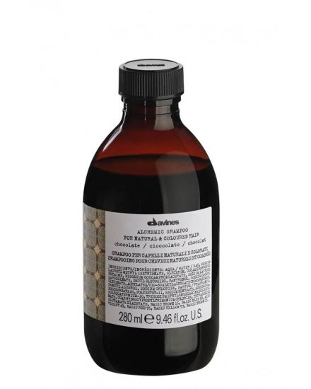 Шампунь для натуральных и окрашенных волос «шоколад» Davines Alchemic Shampoo For Natural And Coloured Hair Chocolate