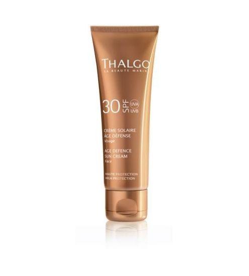 Антивозрастной солнцезащитный крем для лица Thalgo Age Defence Sun Screen Cream SPF30