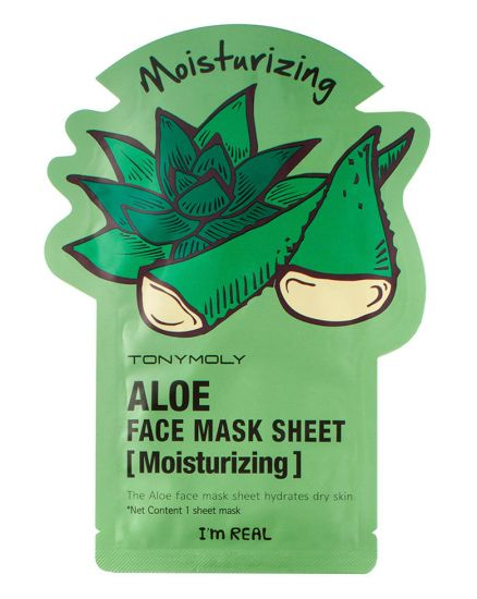 Тканевая маска TONY MOLY I'm Real Aloe Mask Sheet