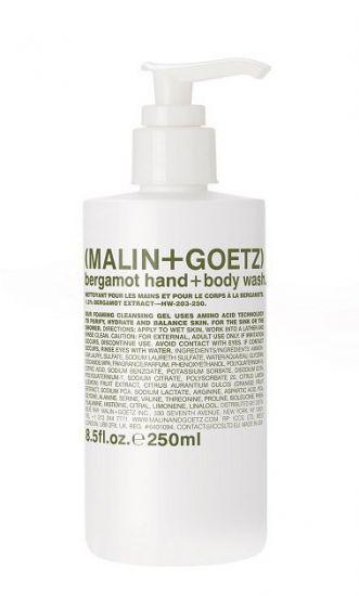 Гель для тела и рук Malin+Goetz Bergamot Hand And Body Wash