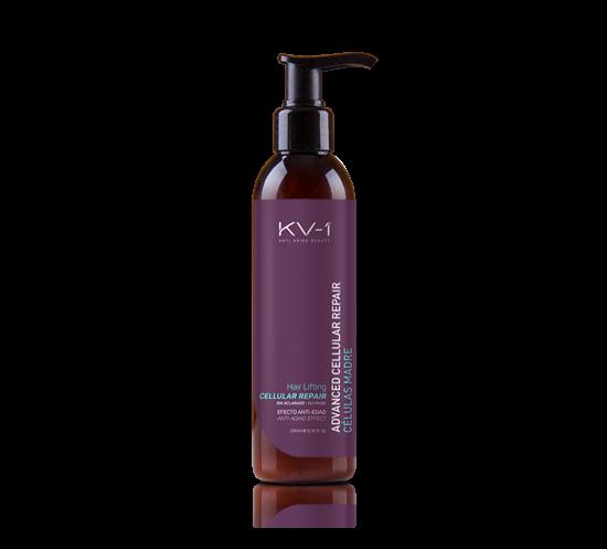 Несмываемая сыворотка с экстрактом шелка и аргановым маслом KV-1 Advanced Cellular Repair Hair Lifting